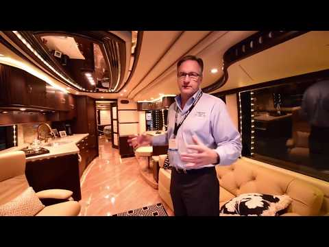 $$$ 5 Million Dollar $$$ Caravan Motorhome Travel Living Super Luxury Liberty Coach Rich Full Tour