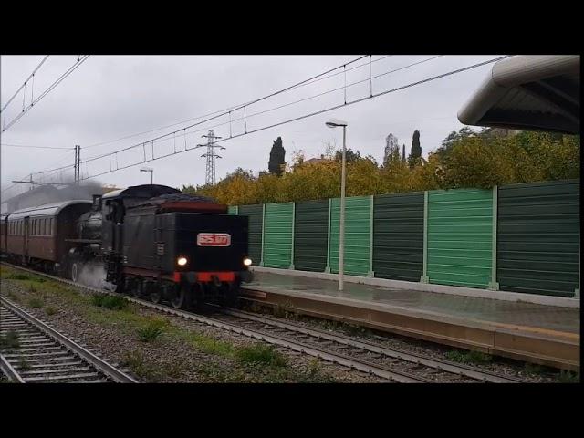 Il passaggio del locomotore gr  625 FS