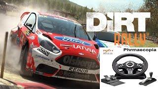 PXN Steering Wheel - Dirt Rally Gameplay