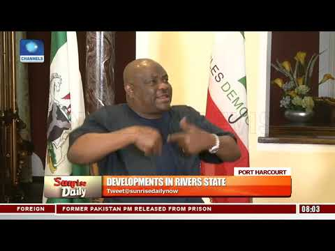 Gov. Wike Explains The Choice Of Rivers State For PDP National Convention Pt.2 |Sunrise Daily|