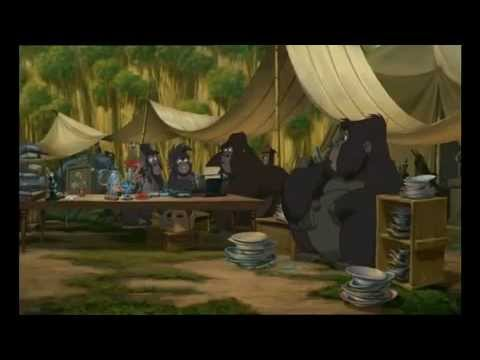 Tarzan - canzone 5 -  Caos all'accampamento