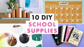 10 Diy School Supplies: Calendars, Organizers And Notebooks - Hgtv Handmade