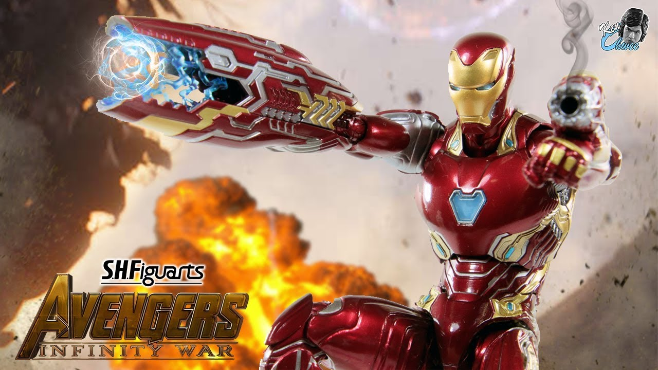 S.H Figuarts SHF Avengers 3 Infinity War Iron Man Mk50 Action Figure Collection