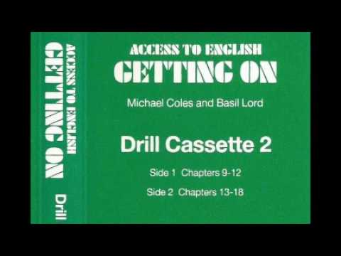 Access to English (New edition, 1984) - 2 - Getting on - Drill cassette 2 - for units 9 -16 - audio