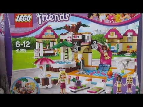 Lego Friends 41008 Heartlake City Pool Youtube