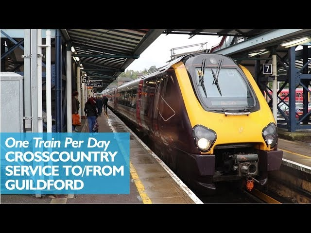 The One A Day CrossCountry Service From Guildford