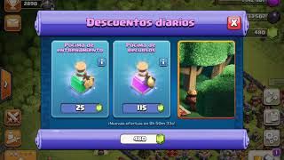 clash of clans ANILLO de muro MURO, noooooo please