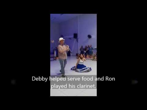 Cultural Festival in Brazil: Ron and Debby McKeon