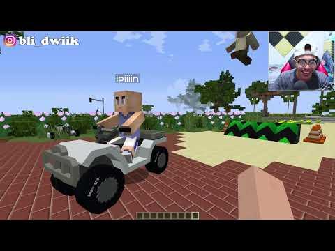Upiiiin Nyobain Kendaraan Kocak Di Minecraft
