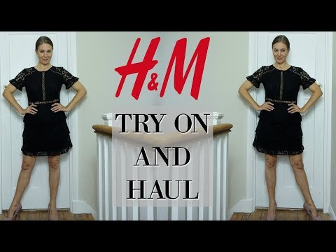 H & M Haul and try on | Fashion over 40 | H&M