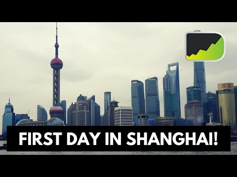 First Day In Shanghai - Forex Trading While Traveling Journey