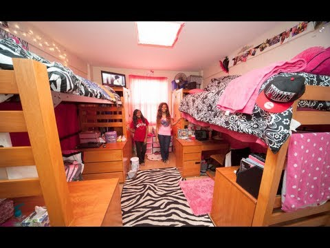 Valdosta State Patterson Hall Freshman Dorm Room 2012 (Cute, Pink U0026amp;  Hello Kitty) @oxDollface Part 73