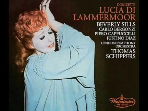 Beverly Sills - Regnava nel silenzio: Donizetti - Lucia di Lammermoor.