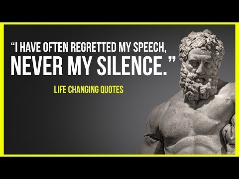 Wise Ancient Greek Philosophers Quotes To Make You A Better Person!