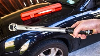 "Review: The best value torque wrench? Tekton 24335 1/2"" click style"