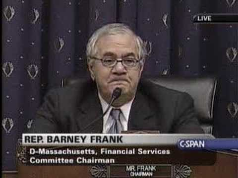Hearing on Preventing Foreclosures: Frank's Opening
