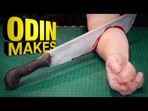 Odin Makes: Jason's Machete from Friday the 13th