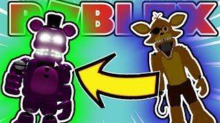 How To Get Endoskeleton, Spring Foxy/Golden Foxy, Shadows in Roblox Fnaf Rp: Freddy and Friends