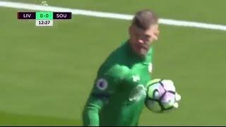 Fraser Forster VS Liverpool- Premier League- 07/05/17