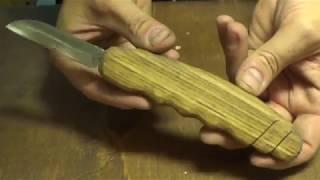 богородский нож из опасной бритвы