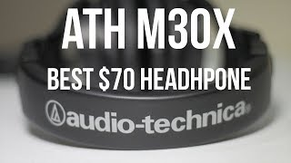 Audio Technica ATH M30X Review