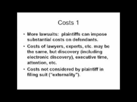 Rubin: Third Party Financing of Litigation