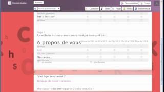Créer un questionnaire en ligne avec Declic2 - Logiciel Sphinx