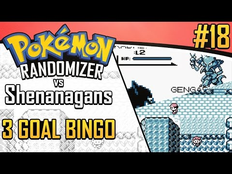 Pokemon Randomizer 3 Goal Bingo vs Shenanagans #18