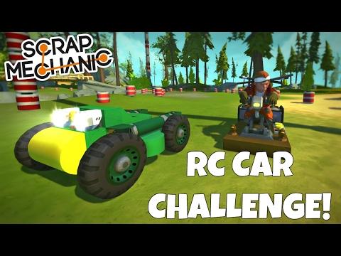 RC CAR RACE CHALLENGE! - Scrap Mechanic Multiplayer - EP 203