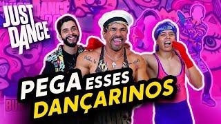 DANÇAMOS ATÉ O CHÃO NO JUST DANCE