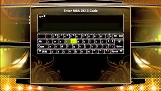 NBA 2K13: Hidden Code   Get +3 Ball Handling For Your MyPLAYER MyCAREER ! ! !