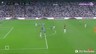 أهداف مباراة ريال مدريد 1 و 0 إسبانيول