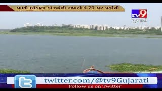 Surat: Water level of Causeway increases after 6000 Cusec water released from Ukai dam- Tv9