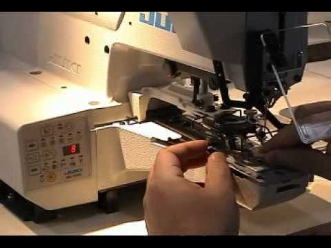 Single-thread, Chainstitch Button Sewing Machine Computer-controlled, Dry-head, High-speed,