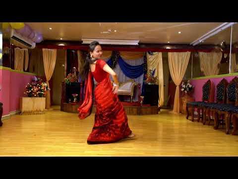 New Teej song 2017 cover dance by Sangita gaire  jhukkyayo aina le