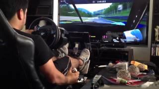 Gran Turismo 5 Gameplay with  ThrustmasterT500RSat  Nurburgring Gameplay