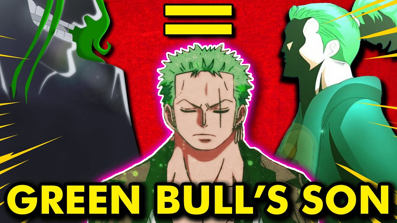 Download Proof Green Bull Is Zoro's Father