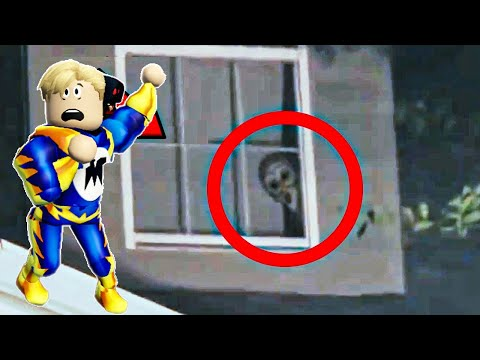 فيلم روبلوكس : أشياء مخيفة صورتها كاميرات المراقبة لن تصدقها ( مومو جرانى سلندر ) !!🔥😱
