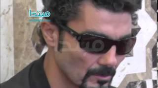 فيديو| خالد النبوى ونظرة أخيرة على عمر الشريف