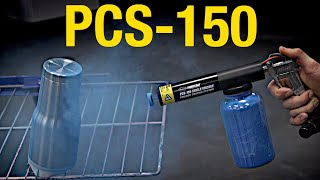 PCS-150 Powder Coating System:  Easy to Use and Affordable Powder Coating Solution!