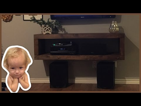 Build a Cheap Mounted Media Console
