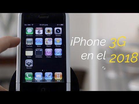 Como es un iPhone 3G en el 2018