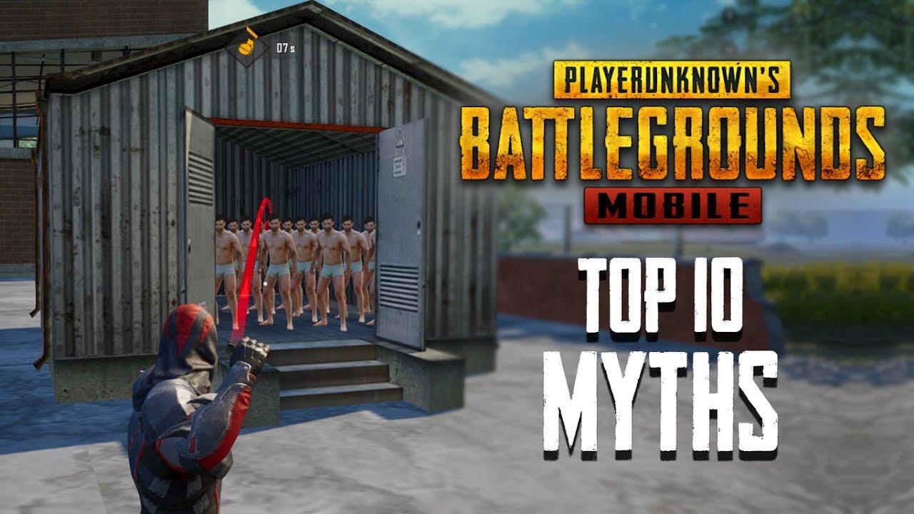Os 10 melhores Mythbusters em PUBG Mobile | PUBG Mitos # 2 + vídeo