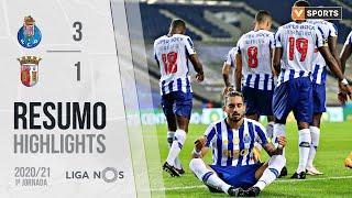 Highlights | Resumo: FC Porto 3-1 SC Braga (Liga 20/21 #1)