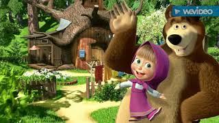 Маша и медведь и ребята клип.