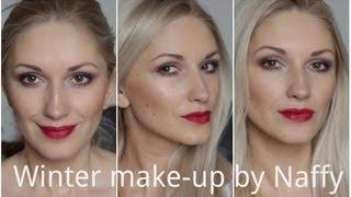 видео вечерний макияж для блондинок с зелеными