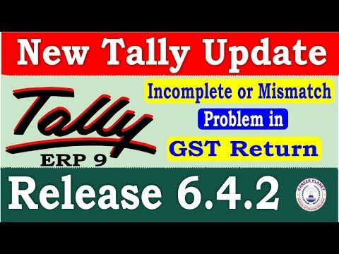 Tally ERP 9 Release 6.4.2 Tally Update | Download Latest Tally Version