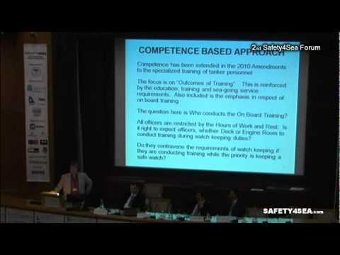 2011 SAFETY4SEA Forum - Capt John Dickie