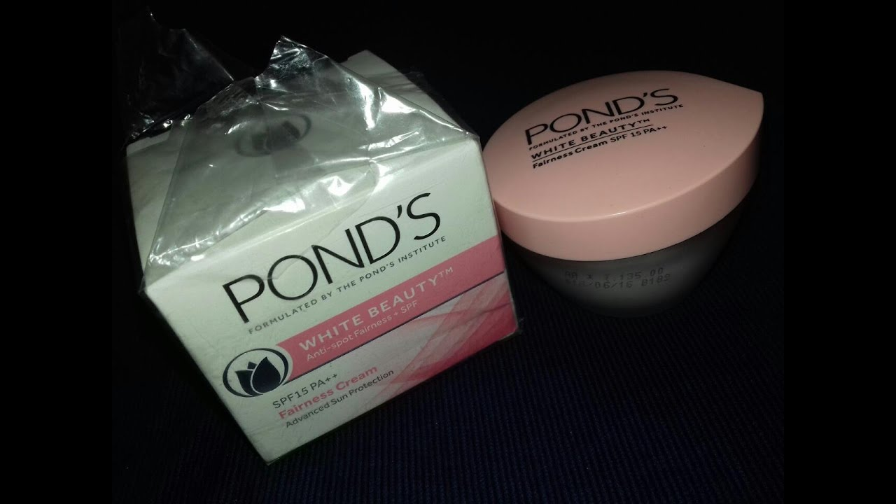 Ponds White Beauty Anti Spot Fairness Cream Spf 15 Review Package Hindi