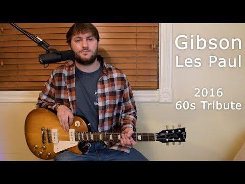 Gibson Les Paul 2016 60s Tribute - Guitar Review
